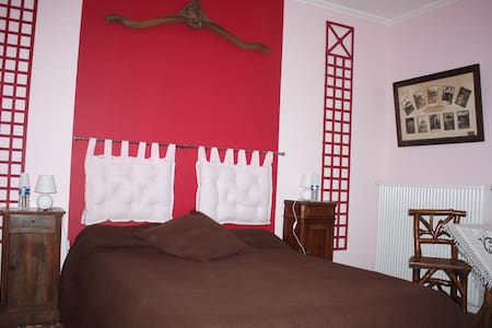 Presbytere 18° ch : Les treillages - Bed & Breakfast