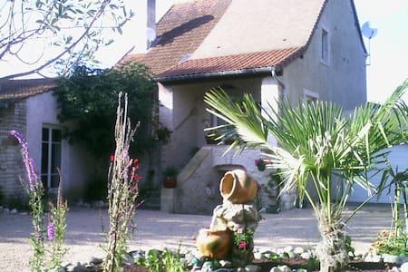 Le gite du Figuier en Bourgogne du Sud - Cortevaix - Dům