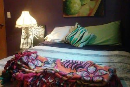 Cozy queen bed in quiet Moorhead neighborhood - Moorhead
