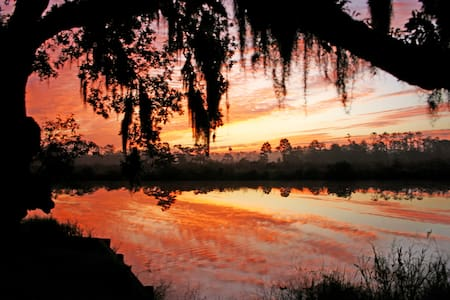 2 BR Bayou retreat 40min from NOLA - Haus