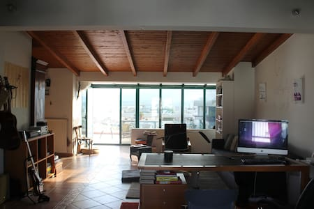 highest penthouse in Volos - 公寓