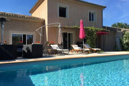 Maison avec piscine dans les gorges de l'Ardèche - Labeaume - Hus