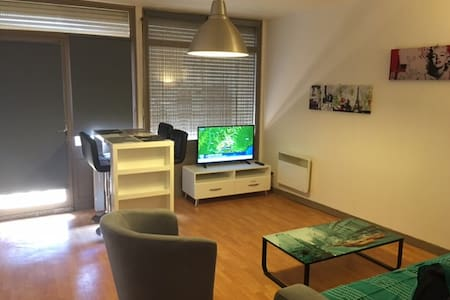 Appartement au calme centre ville avec 2 chambres - Wohnung