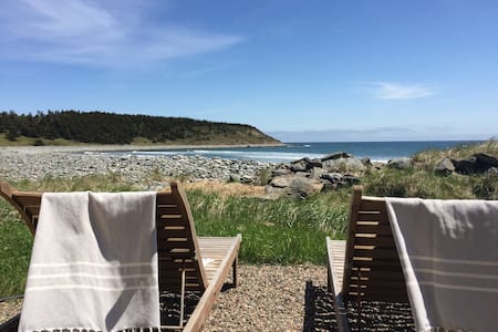 Drifthouse on the beach - East Lawrencetown - Talo