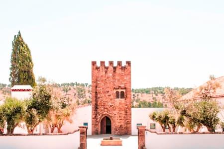 Quarto romântico em Torre medieval - Castillo