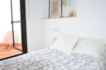 Room with terrace in center - Malaga - Lejlighed