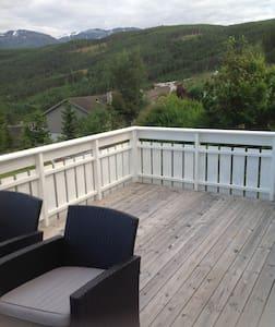 Leilighet med flott utsikt nær fjorden - Lyxvåning