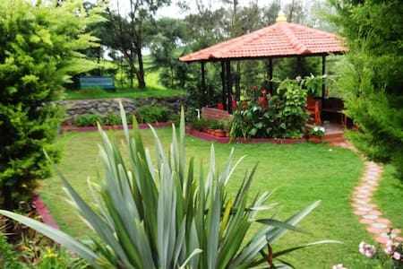 A Tea plantation escape At green nest - Kotagiri - Villa