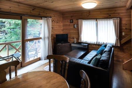 Balls Deep Inn Hakuba LOG HOUSE 1bedroom with aCAR - Hakuba-mura
