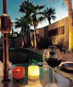 Beautiful Private Casita in Sunny Palm Springs - Huis
