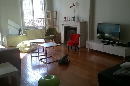 Appartement 90m2, weekends, Lyon 6. - Lyon - Apartment