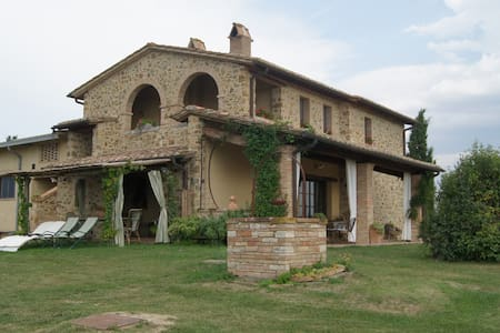 Monsole - Tuscany landscape views Holiday Home - Province of Siena - House