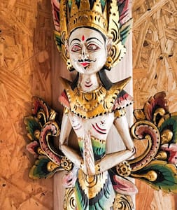 Balinese Bungalow en Montoya, La Barra. - La Barra