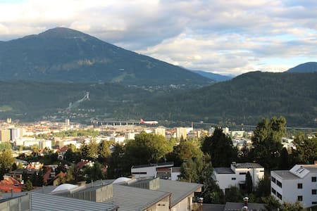 Comfortable SofaBed with Beautiful City View - Innsbruck