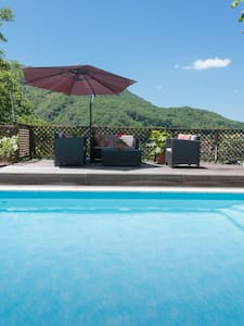 Surya Pyrenees B&B Foix - Yoga/Pool/Views/Gdn Rm 2 - Foix