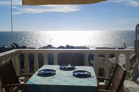 Cozy Sea-view maisonette byIonian - Wohnung