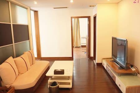 奥帆中心旁的海景套二房 - Qingdao - Lägenhet