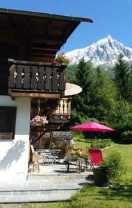 Appartement calme, vue Aiguilles de Chamonix - Apartment