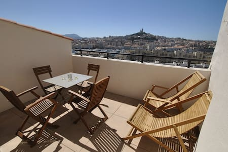 ☼ 2-rooms with terasse ☼ - Marseille - Apartment