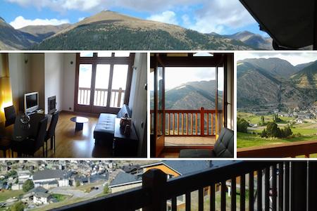 Duplex con vistas en Canillo, Andorra - Lakás
