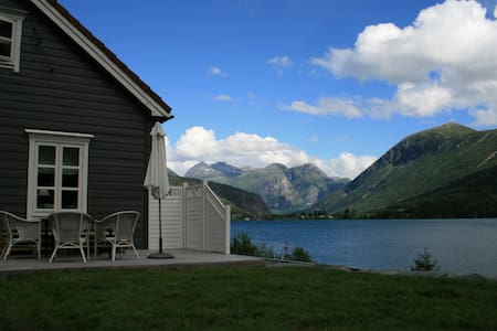 House with high standard.Lake,peak & glacier view. - House