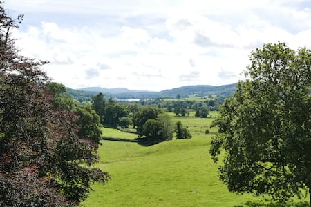 Sara Buck Room With Superb Lake District View - Outgate