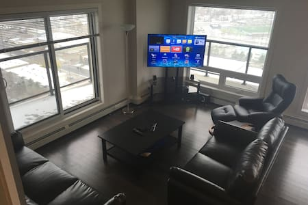 New,clean 2 BR apt with great views downtown! - Edmonton