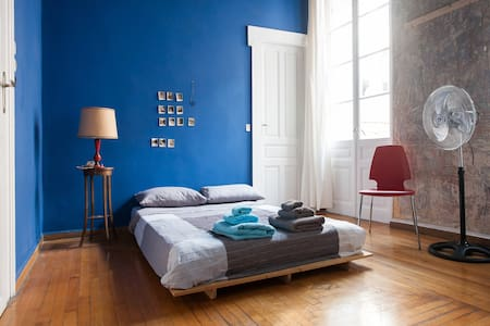 1860's Historic House SUPER CENTRAL -Blue Room- - Athina - House