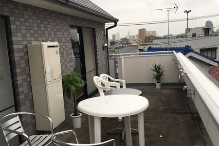 private room with view in sasazuka. - Nakano - Apartment