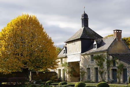 Propriété historique, grand calme, proche de Tours - Hus