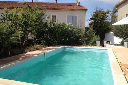 SPACIOUS HOUSE WITH PRIVATE POOL MARSEILLE - Marsella - Villa