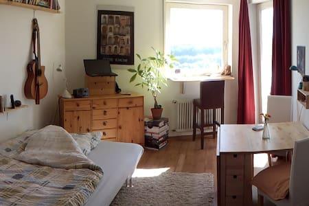 Helles Appartement mit traumhaftem Ausblick - Apartamento