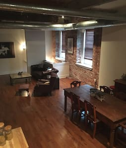 Unique bi-level loft in Fishtown - Philadelphie - Appartement