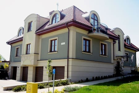 Apartment 75 m on a beautiful estate 20 min. to th - Borkowo Łostowickie - Wohnung