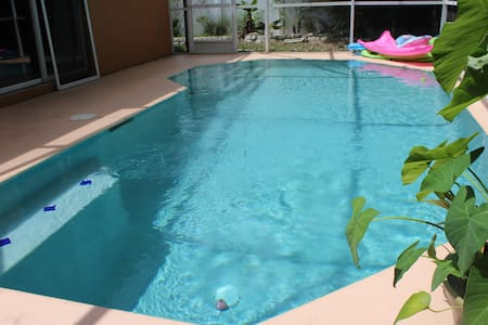 Peaceful Pool Home Near Disney - Kissimmee - Casa