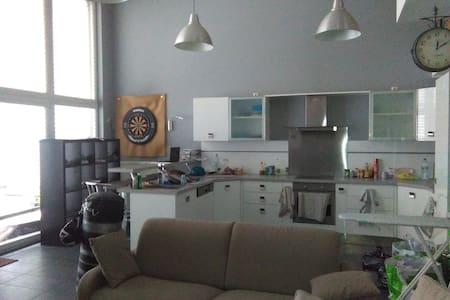 Spacious and beautifull room in luxembourg city - Apartamento