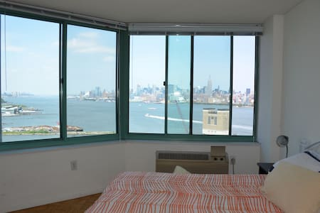 NYCskyline large private room - Jersey City - Apartment