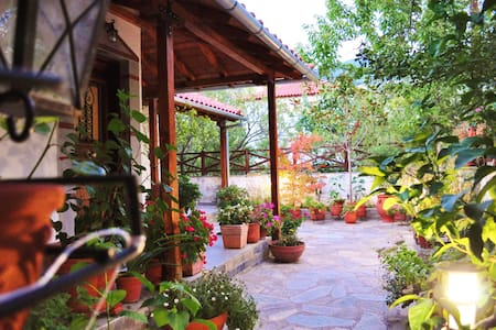 Traditional Pelion House with Garden in Katochori - Κατωχώρι - Talo