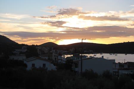 Korfo's apartment with unique view - Korfos