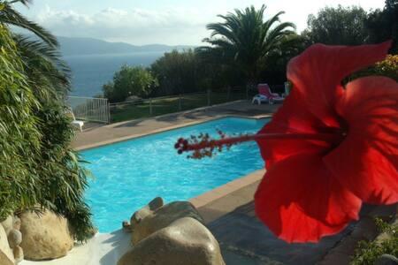mini villa dans résidence privative avec piscine - Olmeto - Villa