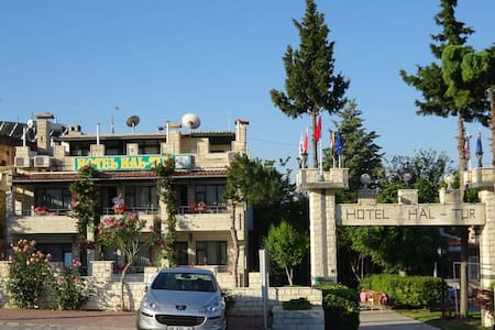 PRİVATE TRİPPLE ROOM VIEW POINT HOTEL - pamukkale - Bed & Breakfast