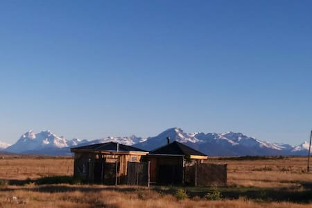 Cabaña Bandurria con hot tub - Puerto Natales - Blockhütte