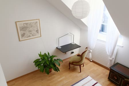 Room & Rooftop Terrace in Old Town of Berne - Bern - Apartment
