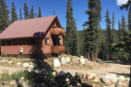 Unplug without going off-grid; pet-friendly cabin - Fairplay - Chalet