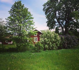 Liten och mysig stuga i Ramsberg - Ramsberg - 小木屋