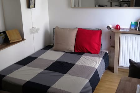 St Ouen Cosy Studio: Puces, Stade de Fr, Paris... - Apartment