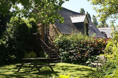 La Forgette 2 bed/2 bath Renovated Barn near Sea - Huis