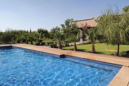 Magnifique villa vue sur l'atlas - Marrakesh