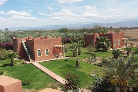 Maison d'hôtes RIAD BELOISEAU - Marrakesh - Huis