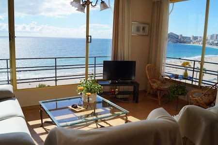 Beachfront apartment  in Poniente